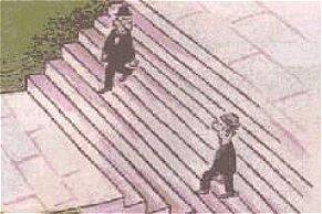 ¿Adónde lleva la escalera?