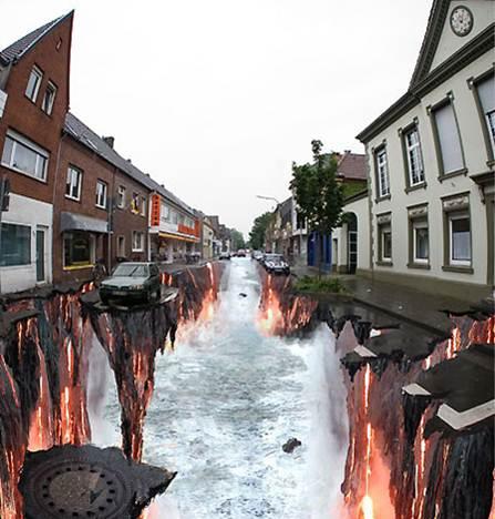 Un río de lava