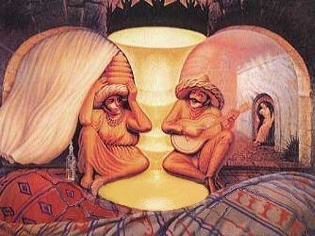 ¿Pareja de ancianos o dos amantes?
